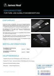 GRAUMAßSTÄBE - Carl von Gehlen GmbH & Co. KG