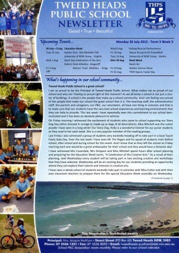 02 Newsletter Term 3 Week 3 30.07.12 Week 31 [pdf, 3 MB]