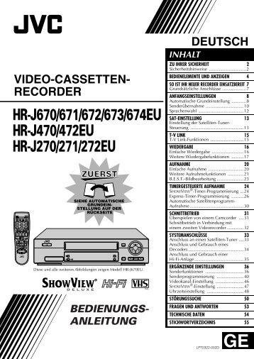 kurzanleitung digitaler video-recorder samsung dcb