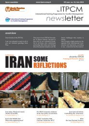 IRAN - Some reflections - Newsletter July 2010 - Scuola Superiore ...