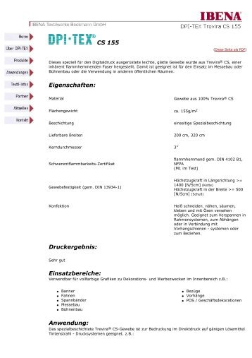 Diese Seite als PDF - IBENA DPI-Tex