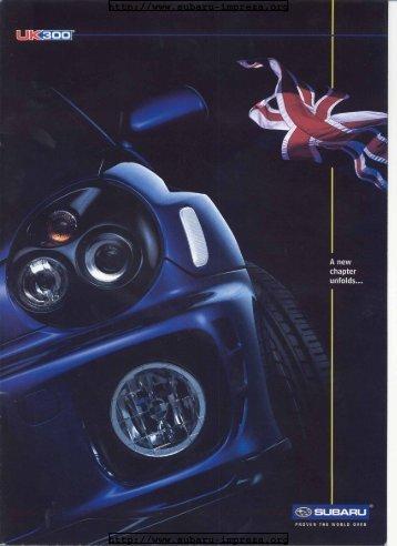 Subaru Impreza UK300 Special Edition