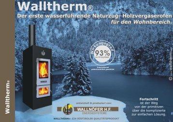 Der Walltherm - Horst Erichsen Energy
