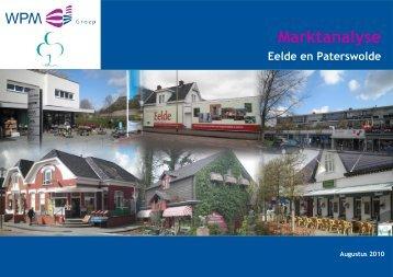 Bijlage 3 Marktanalyse Eelde en Paterswolde, 26-08-10 - Gemeente ...