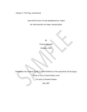Usi master thesis