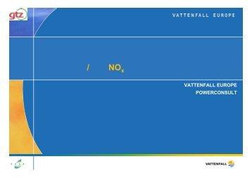电厂脱硫除尘技术研讨会专题二环境影响/ 降低NO 排放