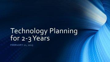 Technology Coord Meeting - tccsa
