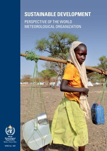 SUSTAINABLE DEVELOPMENT - WMO