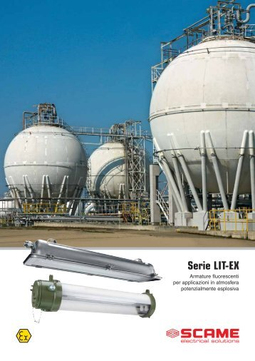 Serie LIT-EX - Scame Parre S.p.A.