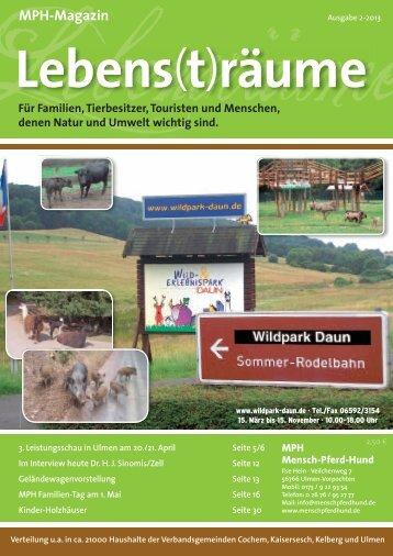 MPH Magazin 2/2013 als PDF - MPH - Mensch Pferd Hund