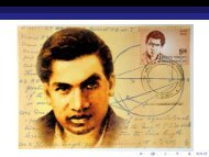 I beg to introduce myself - Indian Statistical Institute