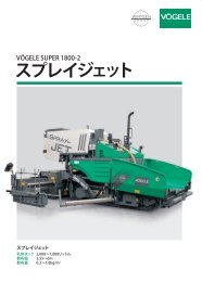 スプレイジェット搭載 SUPER 1800‑2