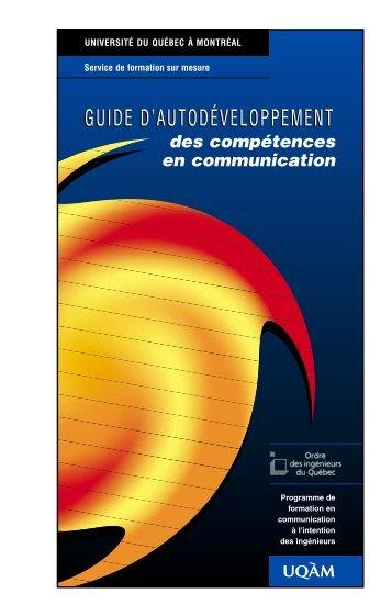 Guide d'autodéveloppement des compétences en communication