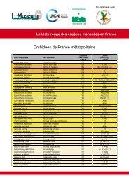 Tableau synthétique avec catégories et critères - Comité français de ...