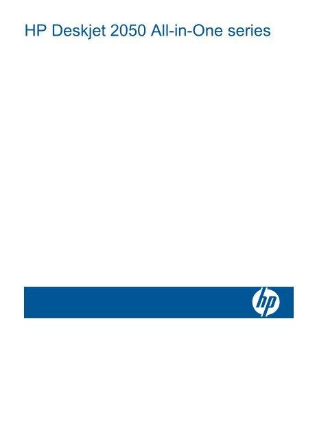 HP Deskjet 2050 All-in-One series - Hewlett Packard