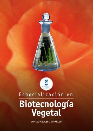 Biotecnología Vegetal - Universidad del Azuay