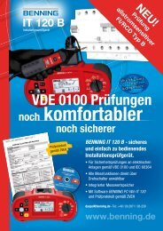 benning it 120 b - Siblik Elektrik GmbH & Co. KG