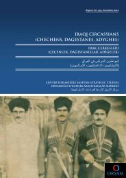 iraqi circassians (chechens, dagestanes, adyghes) - orsam