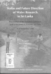 Contents - International Water Management Institute