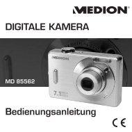DIGITALE KAMERA Bedienungsanleitung - Medion