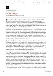 art Vs. design — AIGA | the professional association for design