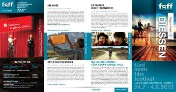 DIES S E N - Fünf-Seen-Filmfestival