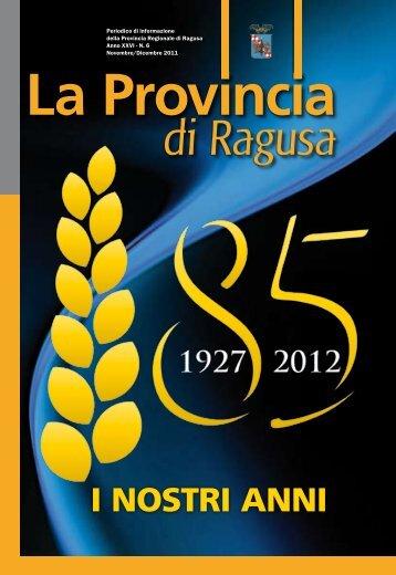 Dicembre 2011 - Provincia di Ragusa