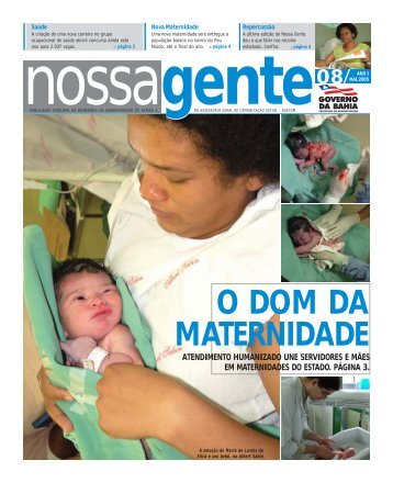 Maio - Governo da Bahia