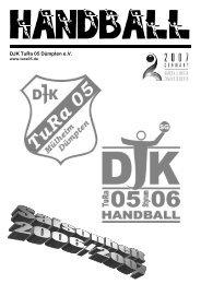 DJK Styrum 06 - Saisonheft 2006/2007