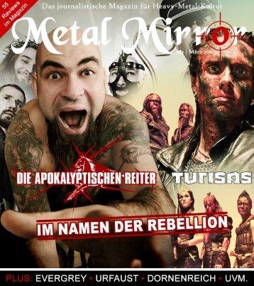 METAL MIRROR #51 - Die Apokalyptischen Reiter, Turisas ...