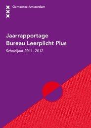 Jaarrapportage Bureau Leerplicht Plus - Gemeente Amsterdam