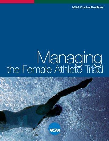 Managing the Female Athlete Triad - Princeton University
