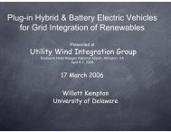 Plug-in Hybrid & Battery Electric Vehicles for - Utility Variable ...
