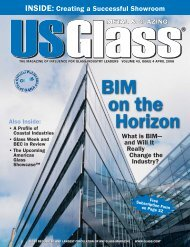 US Glass - April 2008 - USGlass Magazine
