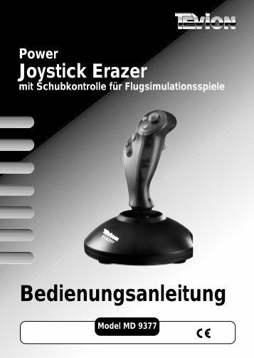 Power Joystick Erazer - Medion