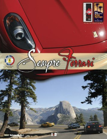 Volume 19 Issue 1 - January-March 2012 - Ferrari Club of America ...