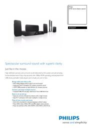 HTS3377/12 Philips DVD home theater system - Mixi, foto in video