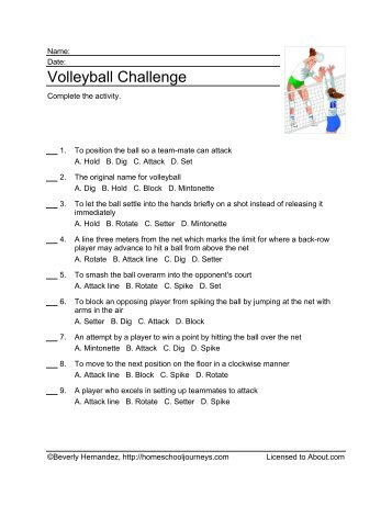 volleyball newton s laws of motion and A second biomechanical principle that is crucial to understand when discussing the volleyball spike is newton's laws of motion and in this case his third law 'for every action there is an equal and opposite reaction'.