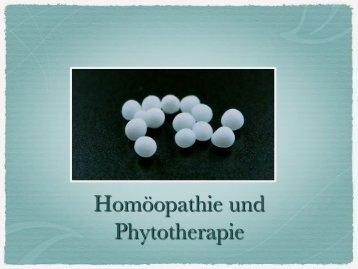 Homöopathie und Phytotherapie