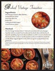 aked Vintage Tomatoes - Ben E. Keith