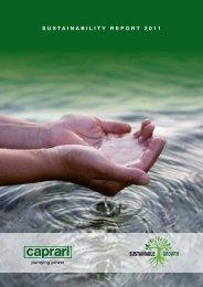 Sustainability Report - Caprari