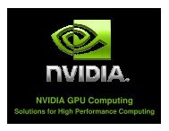 NVIDIA GPU Computing - SERC