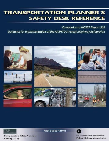 Transportation Planner's Safety Desk Reference