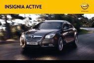 Opel Insignia ACTIVE | Wersja specjalna ACTIVE | Opel Polska