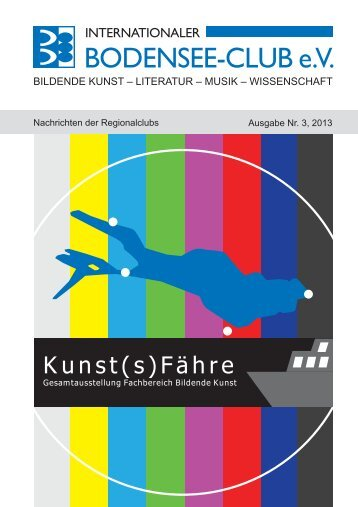 Kunst(s)Fähre - Internationaler Bodensee-Club eV