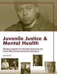 Juvenile Justice & Mental Health - Technical Assistance Partnership
