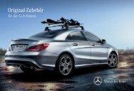 Original-Zubehör für die CLA-Klasse - Mercedes-Benz Accessories ...