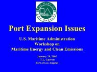 T.L. Garrett, Environmental Specialist, Port of Los Angeles - Maritime ...