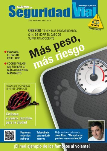 Revista en PDF - Dirección General de Tráfico