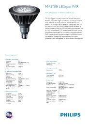Philips MASTER LEDspot 17-100W Warm wit 2700K PAR38 Outdoor